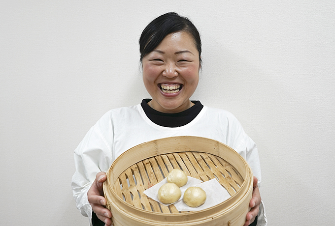 「mimi のおまんじゅう屋さん」 小川 奈津美さん