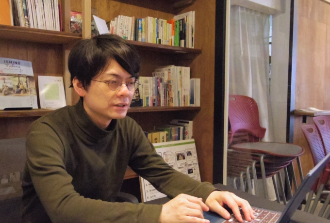 ISHINOMAKI2.0理事 合同会社トイデザイン代表社員 斉藤誠太郎さん